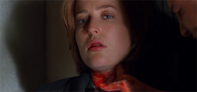 Scully's neck is really on the line this time...