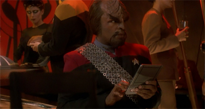A Worf in the fold...