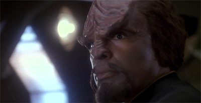 A good man goes to Worf...
