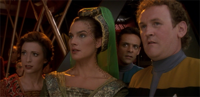 """""""Wait, so we have to share screentime with Worf now?"""""""