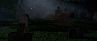 """Can't we have one episode where I don't end up in a freakin' graveyard?"""
