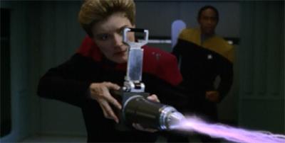 Kathryn Janeway, godkiller...