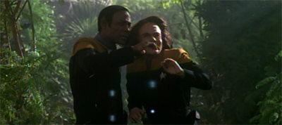 """""""Chakotay's on his own here."""""""