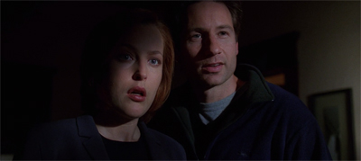The Truth is in Mulder's bedroom. Smooth.