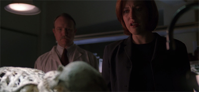 """Mulder's been murdered!"""