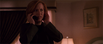 """Looks like you got the good Lone Gunmen episode, Mulder."""