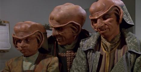 Quark's Family Vacation...