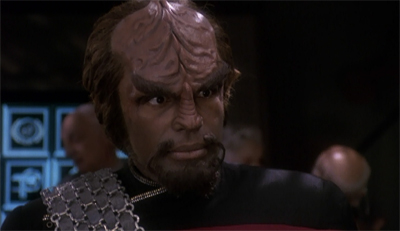 """What do Klingons dream about?"" Captain Worf spin-offs, mostly."