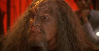 Quark's: Where old Klingons go to drink. And die, that one time.