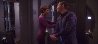 """""""Worf and Dax neve rhad to put up with crap like this."""""""