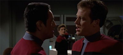 """We were never cool, Chakotay."""