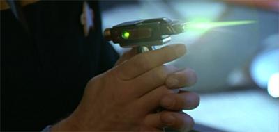 Frickin' laser...