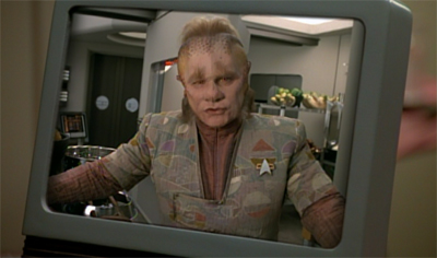 Neelix, journalist.