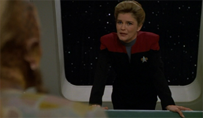 """A Briefing with Neelix"" could be a real four-quadrant hit."