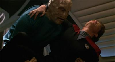 The monster demands a superior officer...