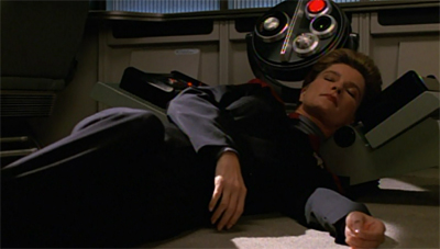 """""""Or a dream. It could all be a dream prompted by Neelix's new coffee blend."""""""