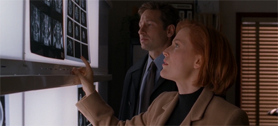 """No Mulder, I did not check for an 'X gene'. Whatever that is."""