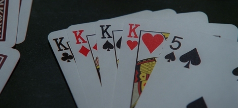 Sometimes you have to play the hand you're dealt...