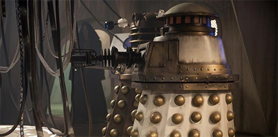 """Hey! Special Weapons Dalek! I haven't seen you in years, dude!"""