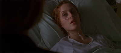 Also, the bit where the episode suggests Scully's own cancer might have been a result of her scientific beliefs. Ugh.