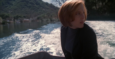 That said, the use of water in an episode about Scully's faith is a nice visual callback to One Breath.