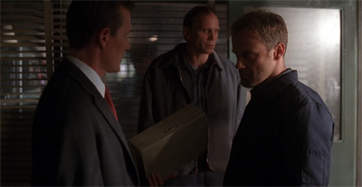 """What's in the box?"" Detective John Doggett asks, having never seen se7en."
