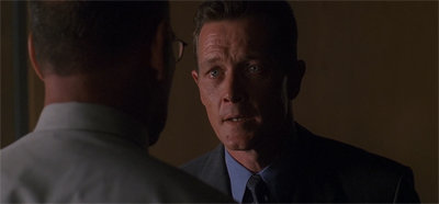 Robert Patrick pitches Doggett at the perfect intersection between