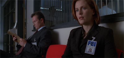 This is why it always pays to watch the credits, Scully.