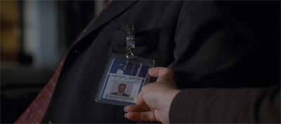 """The name's Doggett... John Doggett."""