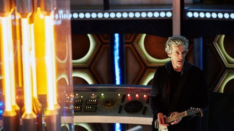 Okay, now Peter Capaldi is just showing off...