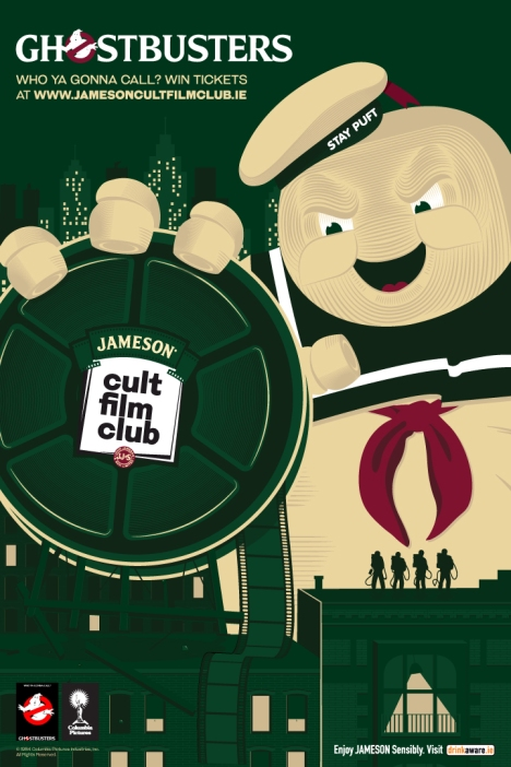 EVENT INFORMATION - Jameson Cult Film Club screening of Ghostbusters.docx