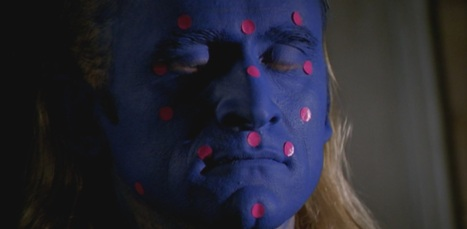 After the show's cancellation, Langly auditioned for the Blue Man Group...