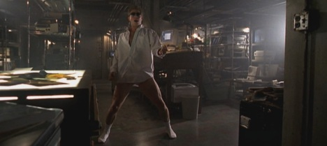 Talk about risky business...