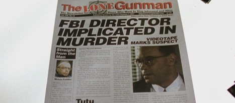 Obviously the Lone Gunmen don't have an in-house legal team...