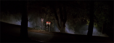 Phone booth on a deserted road at night? This'll end well.