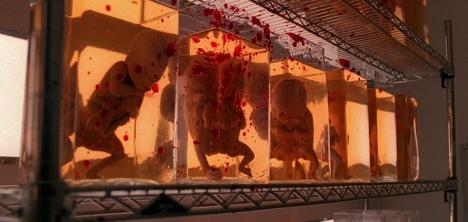 Oh, blood-splattered alien babies...