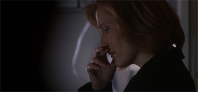 Sad Scully is sad.