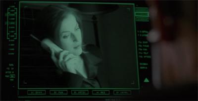 Screening her calls...