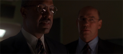 """If our disagreements over the Orpheus problem continue, Agent Scully, you may have a Gulf (of Mexico) war on your hands."""
