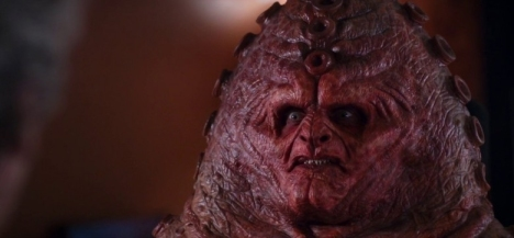 Wait... what happened to the Zygon on the plane? I guess he exploded onto the scene...