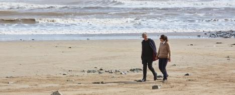 """Seeking companion. Must enjoy long walks on the beach. And in eternity."""
