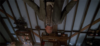 Doggett's whole world is upside down...