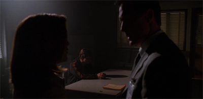 """After two seasons of watchin' the fans beat me up, Mulder decided to cut out the middle-man."""