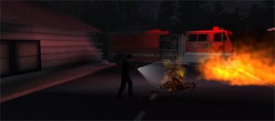 Fire truck...