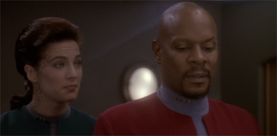 The Sisko is of a station floating somewhere near Bajor.