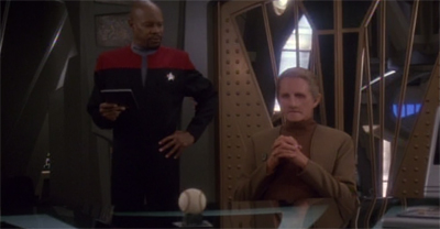 """So, Odo... where's MY coffee?"""