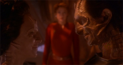 You think Dukat'd be shier about showing his sensitive side. After all, he has a rep(tile) to maintain...