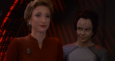 "Dukat's ""bring your illegitimate daughter to work"" day was far from a resounding success..."