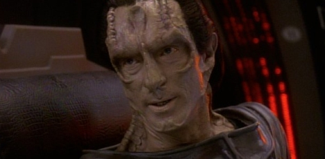 He looks like Dukat that got the cream...
