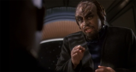 Klingon lawyered up... Kl'awyered up, if you will.